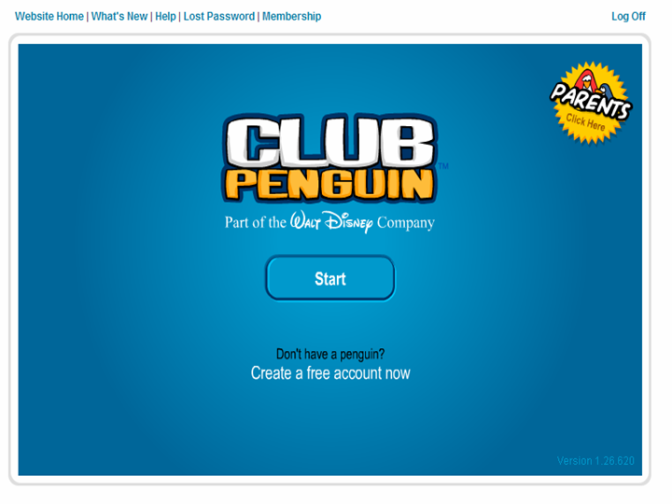New Theme In Club Penguin!