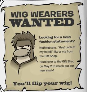 Wig Catalog Ad